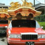 赤い霊柩車は実在する!誕生秘話や霊柩車がシンプルになったわけとは